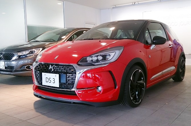 DS 3 PERFORMANCE 展示車入庫のご案内